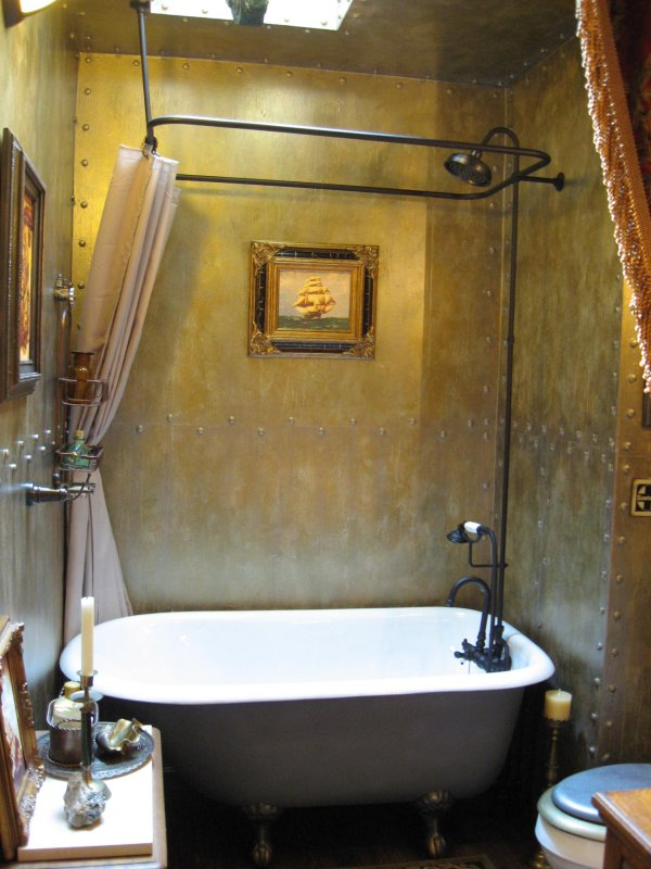 Steampunk bathroom | Gentlemint